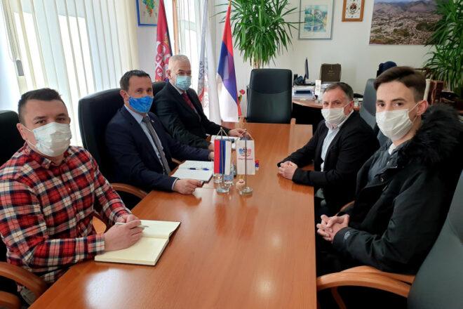 Градоначелник Мирко Ћурић приредио пријем за Марка Ђуковића