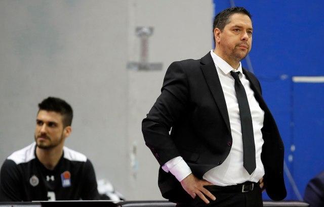 Филиповски није више тренер Партизана