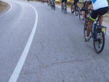Са пута бициклиста према острву (Крф)фото